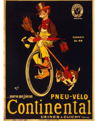 Puzzle Grafika - Poster for Continental tires, 1900, 2.000 piese (46892)