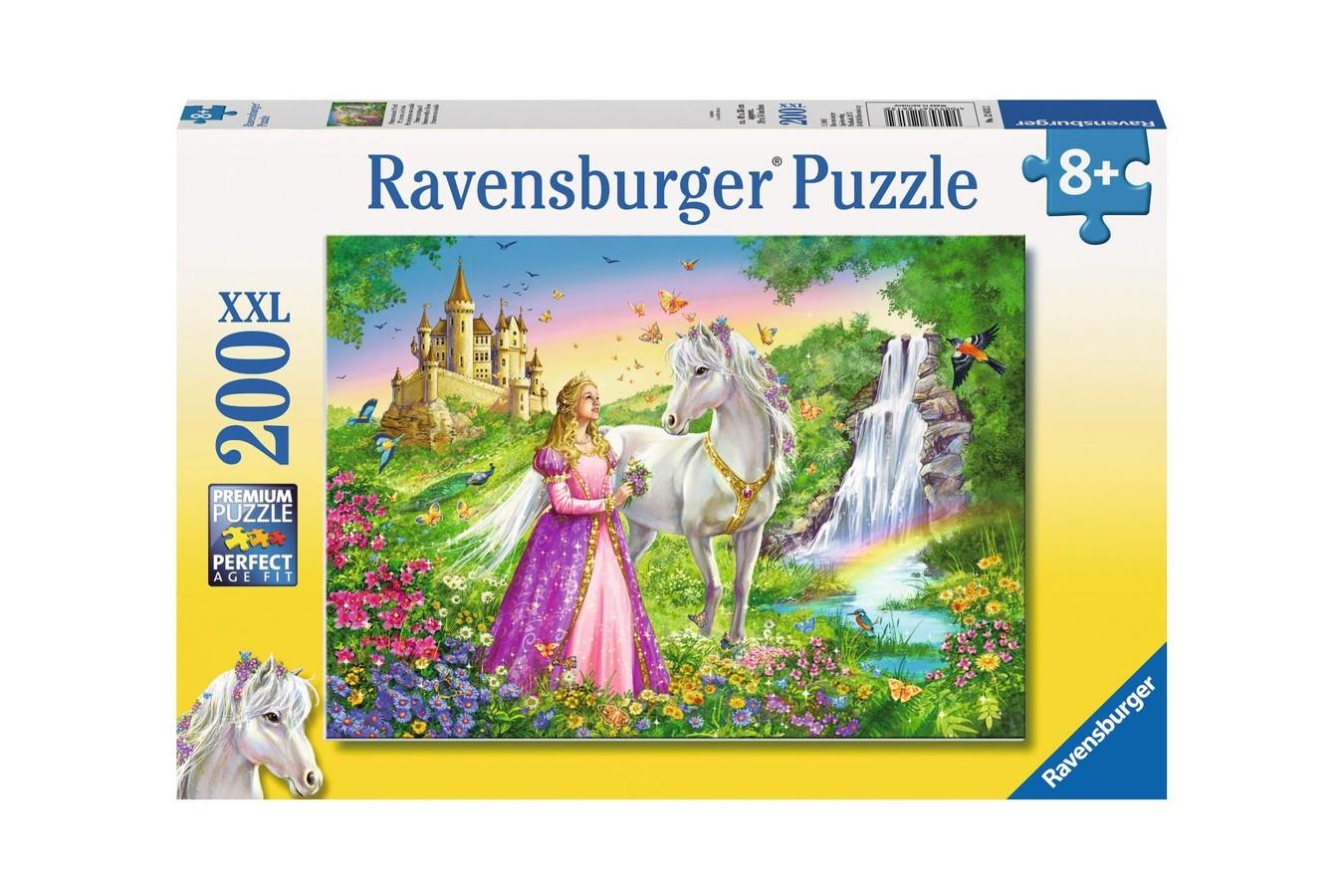 Puzzle Ravensburger - Printesa Si Cal, 200 piese (12613)