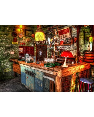 Puzzle Grafika - Ruin Bar in Budapest, 500 piese (63430)