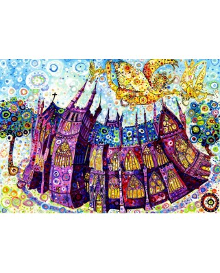 Puzzle Grafika - Sally Rich: Cathedral, 1.000 piese (63655)