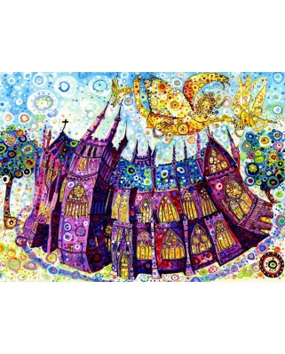 Puzzle Grafika - Sally Rich: Cathedral, 2.000 piese (63654)