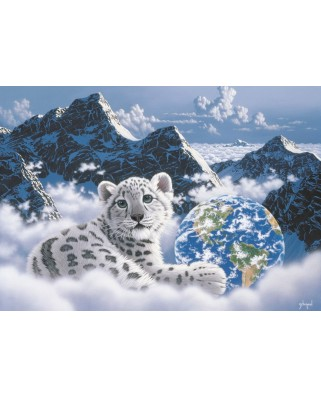 Puzzle Grafika - Schim Schimmel: Bed of Clouds, 1.000 piese (59712)