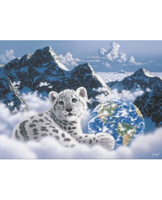 Puzzle Grafika - Schim Schimmel: Bed of Clouds, 2.000 piese (59711)