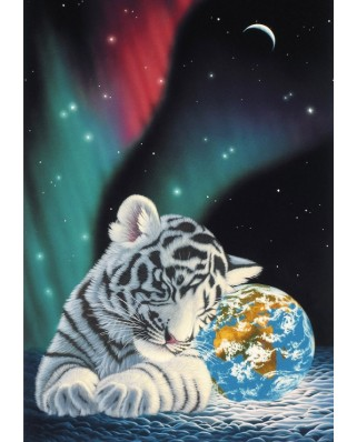 Puzzle Grafika - Schim Schimmel: Earth Light, 1.000 piese (59752)