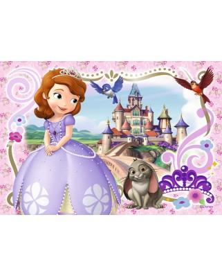 Puzzle Ravensburger - Printesa Sofia, 2x24 piese (09086)