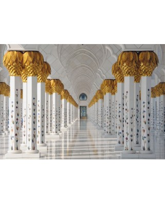 Puzzle Grafika - Sheikh Zayed Mosque in Abu Dhabi, United Arab Emirates, 1.000 piese (55600)