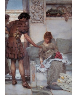 Puzzle Grafika - Sir Lawrence Alma-Tadema: A Silent Greeting, 1.000 piese (45718)