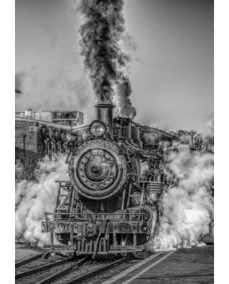 Puzzle Grafika - Steam Train, 1.000 piese (53120)