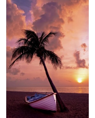 Puzzle Grafika - Sunset in Paradise, 1.000 piese (53160)