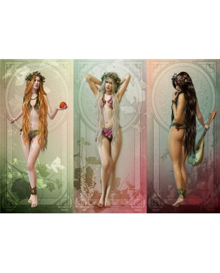 Puzzle Grafika - The 3 Muses, 1.000 piese (55707)