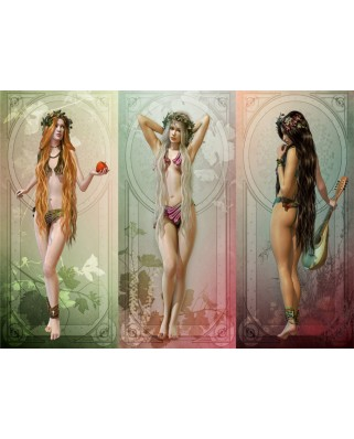 Puzzle Grafika - The 3 Muses, 300 piese (55706)