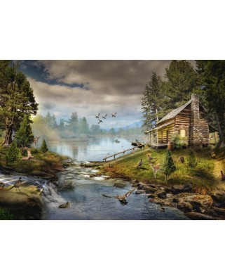 Puzzle Grafika - The Fisherman's Cabin, 1.000 piese (63500)
