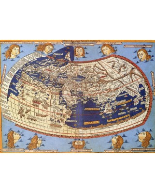 Puzzle Grafika - The World, 1482, 2.000 piese (52991)