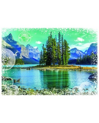 Puzzle Grafika - Travel around the World - Canada, 1.000 piese (58984)