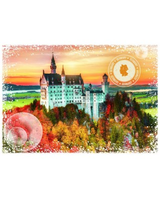Puzzle Grafika - Travel around the World - Germany, 1.000 piese (58966)