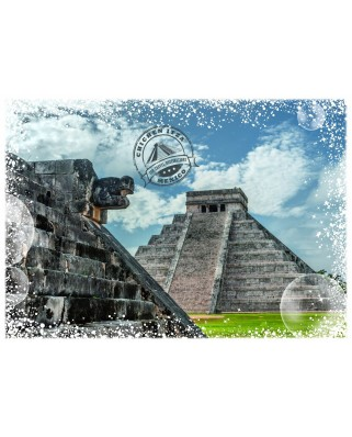 Puzzle Grafika - Travel around the World - Mexico, 1.000 piese (58994)