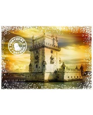 Puzzle Grafika - Travel around the World - Portugal, 1.000 piese (58971)