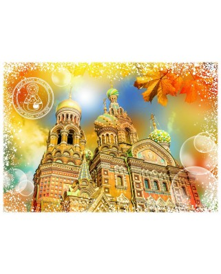 Puzzle Grafika - Travel around the World - Russia, 1.000 piese (58987)