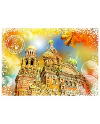 Puzzle Grafika - Travel around the World - Russia, 2.000 piese (58986)