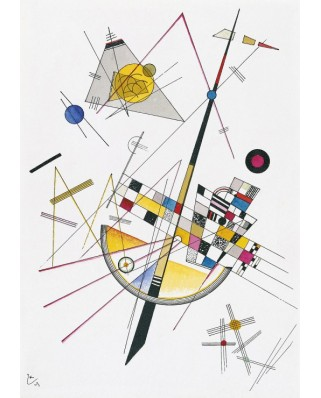 Puzzle Grafika - Vassily Kandinsky: Delicate Tension, 1923, 1.000 piese (47585)