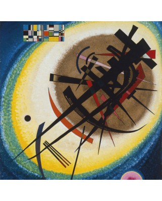 Puzzle Grafika - Vassily Kandinsky: In the Bright Oval, 1925, 1.500 piese (47587)