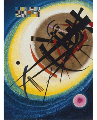 Puzzle Grafika - Vassily Kandinsky: In the Bright Oval, 1925, 2.000 piese (47586)