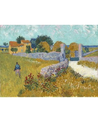 Puzzle Grafika - Vincent Van Gogh: Farmhouse in Provence, 1888, 2.000 piese (55125)