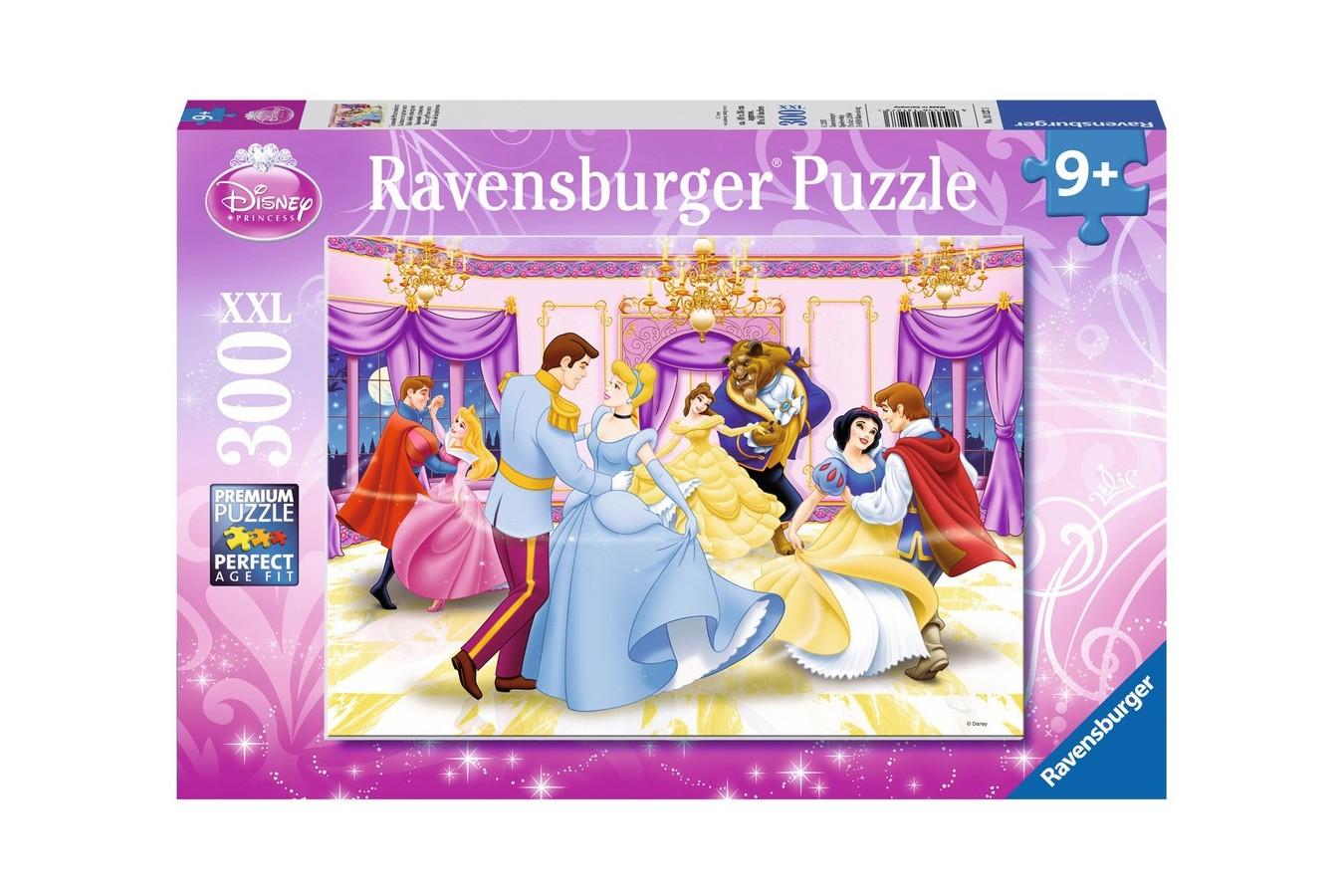 Puzzle Ravensburger - Printesele Dansatoare, 300 piese (13127)