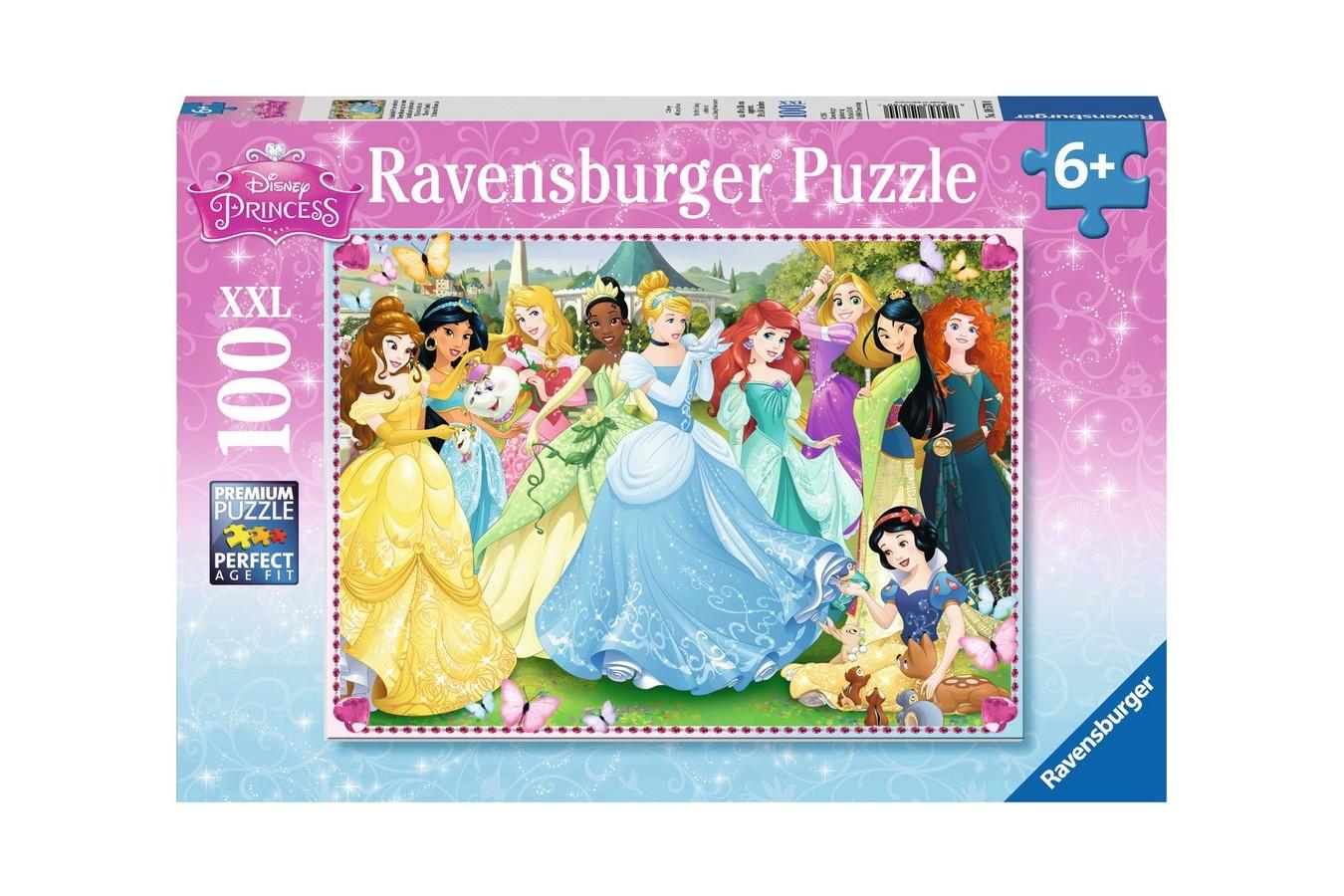 Puzzle Ravensburger - Printesele Disney, 100 piese (10570)