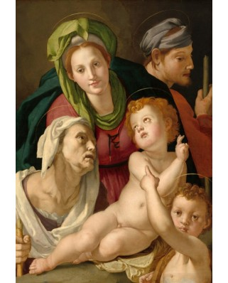 Puzzle Grafika Kids - Agnolo Bronzino: The Holy Family, 1527-1528, 100 piese (55956)