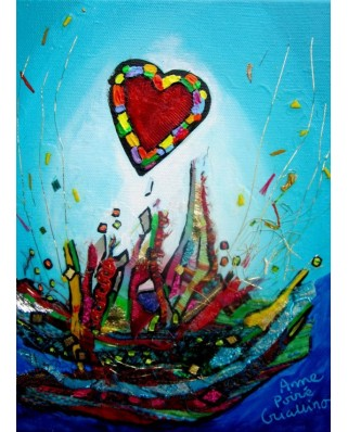 Puzzle Grafika Kids - Anne Poire and Patrick Guallino: Eclats d'Amour, 300 piese (60006)