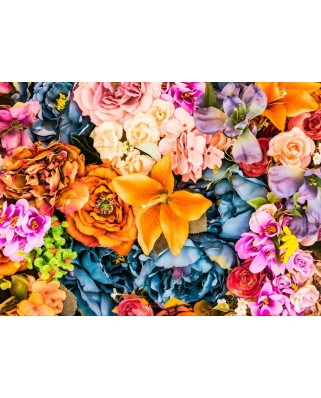 Puzzle Grafika Kids - Artificial Bunch of Vintage Flowers, 300 piese (51701)