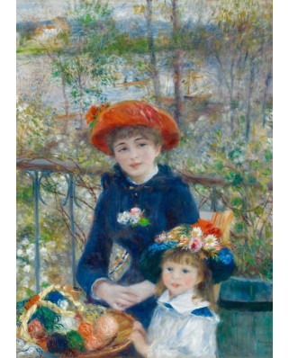 Puzzle Grafika Kids - Auguste Renoir: The Two Sisters, On the Terrace, 1881, 24 piese (49400)