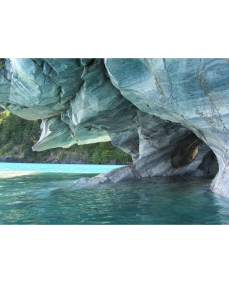 Puzzle Grafika Kids - Blue Marble Cave, Chile, 300 piese (53516)