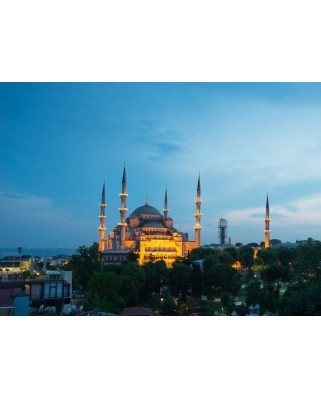 Puzzle Grafika Kids - Blue Mosque, Turkey, 300 piese (52376)