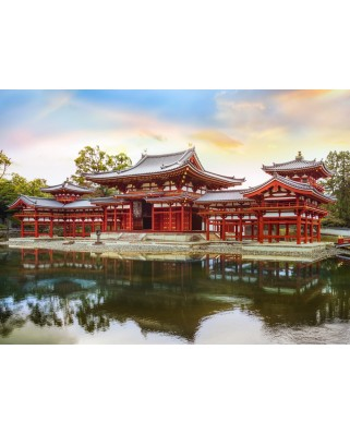 Puzzle Grafika Kids - Byodo-In Temple in Kyoto, Japan, 300 piese (53084)