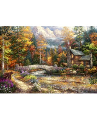Puzzle Grafika Kids - Chuck Pinson: Call of the Wild, 100 piese (62033)