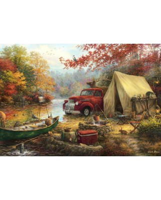 Puzzle Grafika Kids - Chuck Pinson: Share the Outdoors, 100 piese (63105)