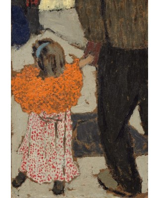 Puzzle Grafika Kids - Edouard Vuillard: Child Wearing a Red Scarf, 1891, 100 piese (56300)