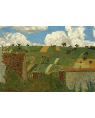 Puzzle Grafika Kids - Edouard Vuillard: Landscape of the Ile-de-France, 1894, 100 piese (56304)