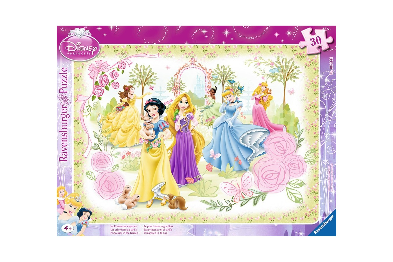 Puzzle Ravensburger - Printesele Disney, 30 piese (06344)