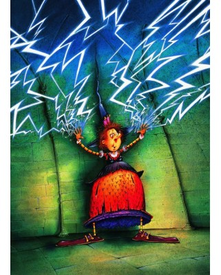 Puzzle Grafika Kids - Francois Ruyer: The Witch, 300 piese (58482)