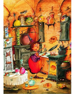Puzzle Grafika Kids - Francois Ruyer: The Witch, 300 piese (58487)