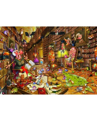Puzzle Grafika Kids - Francois Ruyer: Witch, 100 piese (54724)