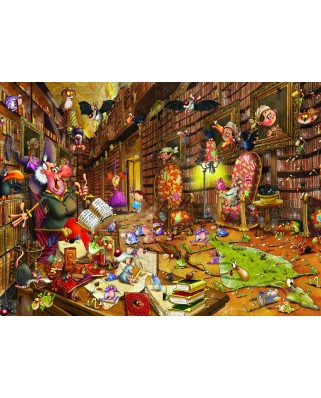 Puzzle Grafika Kids - Francois Ruyer: Witch, 300 piese (54723)