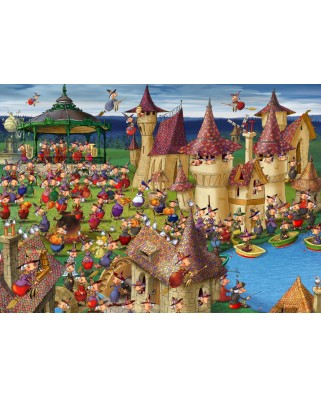 Puzzle Grafika Kids - Francois Ruyer: Witches, 24 piese (54718)