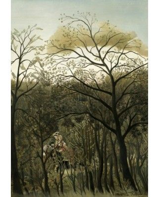 Puzzle Grafika Kids - Henri Rousseau: Rendezvous in the Forest, 1889, 100 piese (56222)