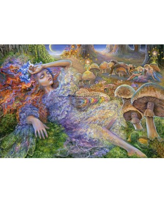 Puzzle Grafika Kids - Josephine Wall: After The Fairy Ball, 100 piese (59310)
