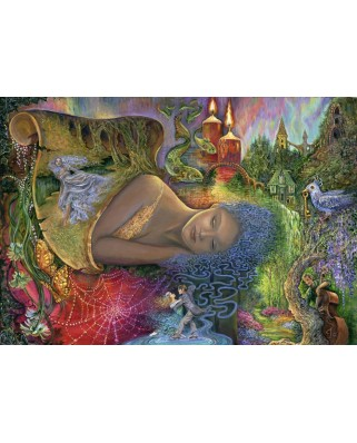 Puzzle Grafika Kids - Josephine Wall: Dreaming in Color, 100 piese (59281)
