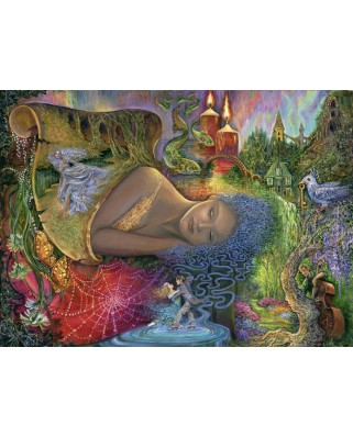 Puzzle Grafika Kids - Josephine Wall: Dreaming in Color, 300 piese (59280)